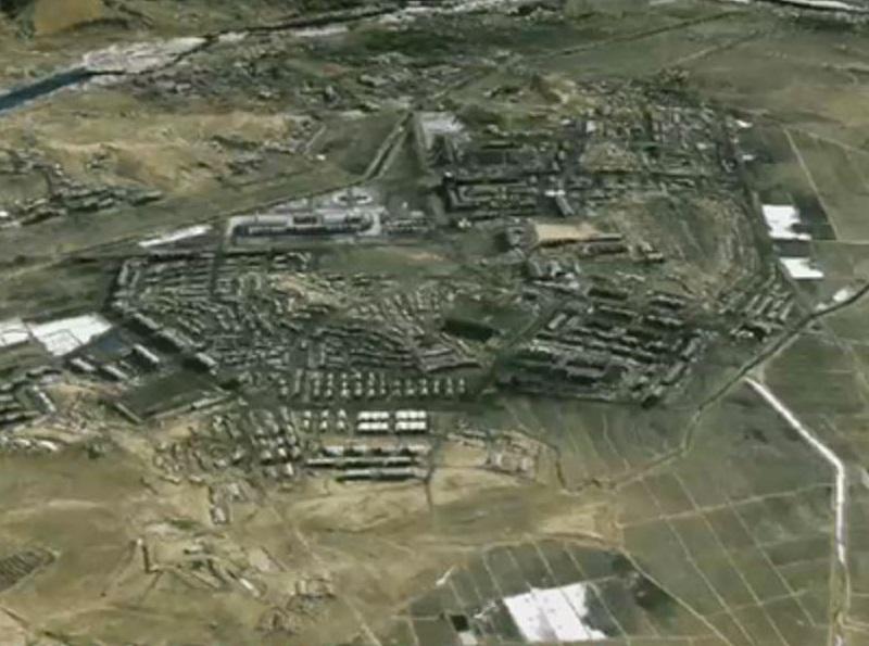 IKONOS Satellite DigitalGlobe Satellite Image of a Nuclear Site